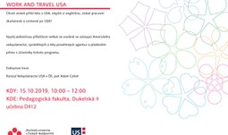 Lecture Work and Travel USA