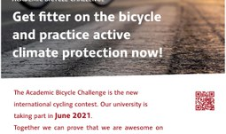 Let yourselves go cycling in the ABC Challenge!