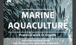 A unique course of Marine Aquaculture at FFPW USB