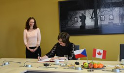 Ambassador of Canada visited USB