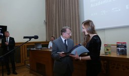 Best thesis in humanities and social sciences was written by a student from the Faculty of Philosophy of USB