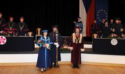 Inauguration of the Dean doc. Dr. Ing. Dagmar Škodová Parmová