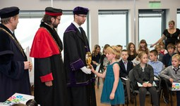 Matriculation of students at the University of South Bohemia and opening of the Children's University
