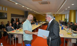 Rector's Award for prestigious scientific publication was awarded to three authors