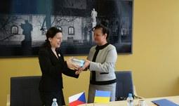 Representatives of two Ukrainian universities visited the university