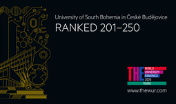 "The first place of the University of South Bohemia among ""young"" universities in the Czech Republic was confirmed by the THE ranking."
