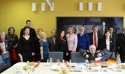 The University continues developing cross-border contacts