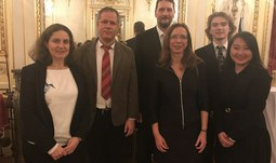 The University of South Bohemia at the embassy of the Czech Republic in Paris.