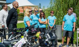 The University of South Bohemia cycled around the equator in a month