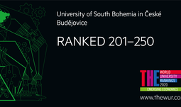 The University of South Bohemia has again succeeded in the prestigious World University Ranking THE