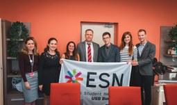 The University of South Bohemia in České Budějovice became a part of ESN
