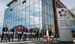 The University of South Bohemia supports cycling – ABC Challenge 2021!