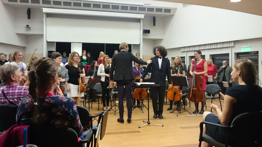 Faculty of Education - Concert of the university South Bohemian Orchestra 1