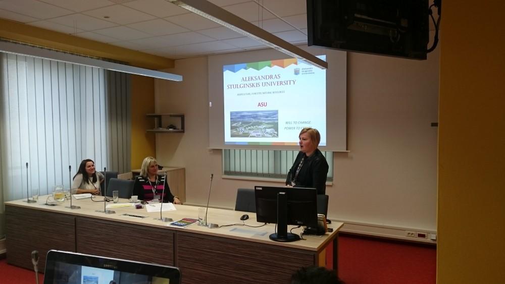 Presentation of the Universities 2