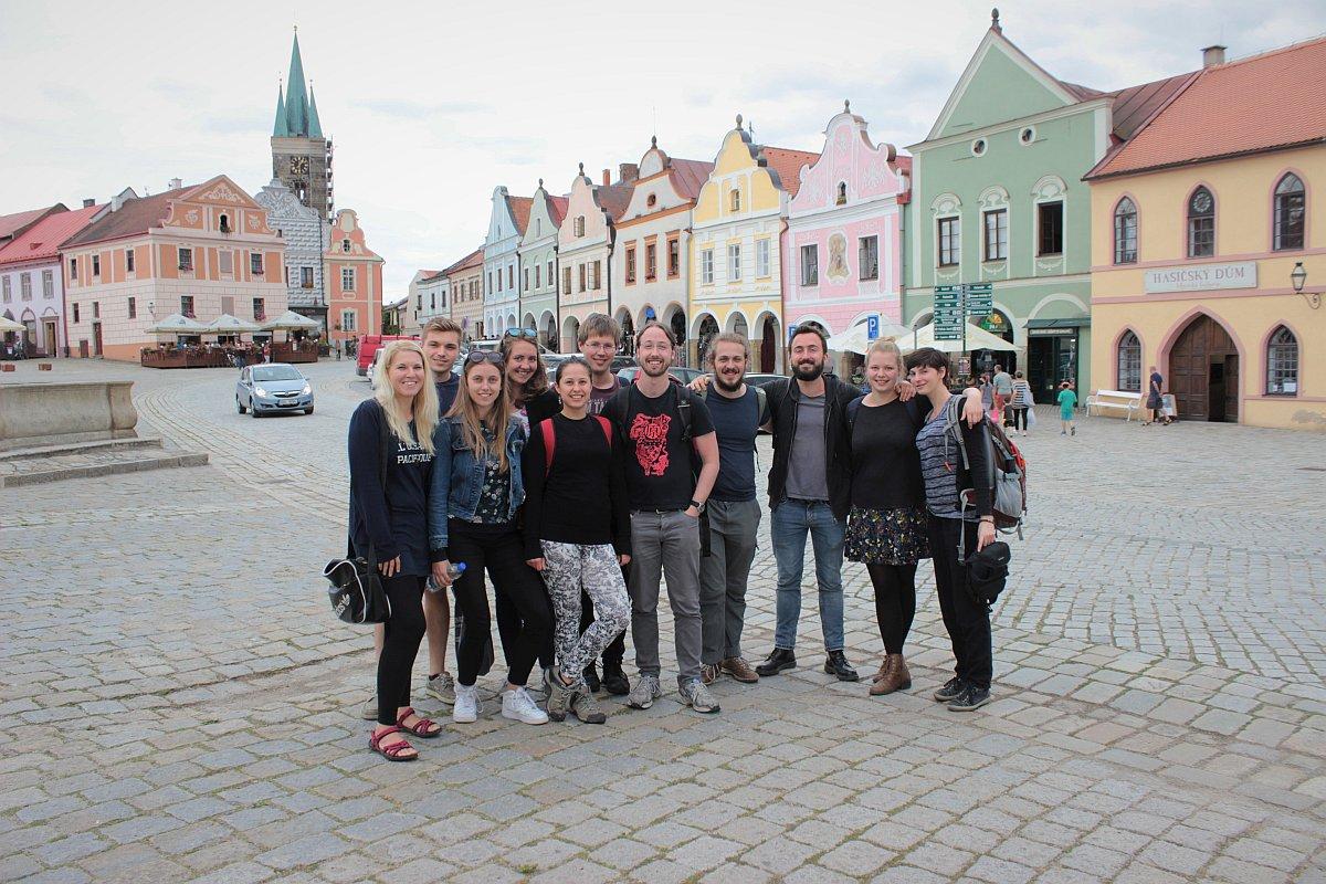 Summer school for Czech-German Language Tandem — Jihočeská