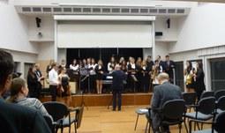 Adventní koncert studentů hudební výchovy