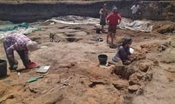 Archeobotanická letní škola v Prilepu spěje do poslední fáze.