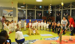 Besídka v Dětské skupině Kvítek