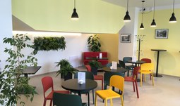 Nová kavárna v kampusu