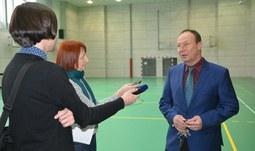 Fakulta slavnostně otevřela nově zrekonstruované tělovýchovné a sportovní centrum