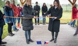 Fakultní výuková zahrada katedry biologie Pedagogické fakulty JU  otevřena