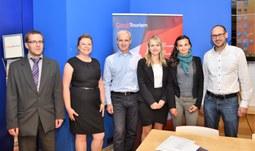 Jihočešky reprezentovaly univerzitu v celostátní soutěži CzechTourism