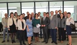 JU navštívil bavorský státní sekretář pro vzdělání a vědu