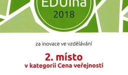Katedra informatiky hrála PRIM na soutěži EDUína