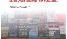"""Knižní publikace Dějiny """"nové"""" moderny – Věk horizontál byla oceněna Jednotou tlumočníků a překladatelů"""