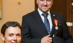 Miroslav Hromada oceněn medailí Za statečnost