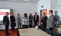 Návštěva španělského velvyslance na Jihočeské univerzitě