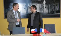 Návštěva z Francouzského institutu v Praze