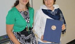 Návštěva z jekatěrinburské univerzity