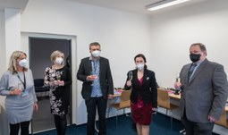 Nová učebna virtuální reality na Ekonomické fakultě