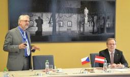 Představitelé partnerské Univerzity Jana Keplera v Linci navštívili Jihočeskou univerzitu