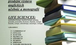 Prodejní výstava anglických učebnic a monografií Life Sciences / 16.-17.4.