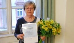 Prof. Radimská získala významné ocenění Mezinárodní federace profesorů živých jazyků - FIPLV International Award