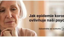 Psychologické souvislosti výskytu koronaviru v ČR