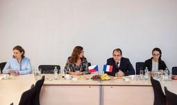 Setkání s velvyslancem Francouzské republiky