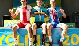 Student ZSF JU získal bronz na Akademickém MS v cyklistice