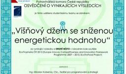 Studenti Zemědělské fakulty uspěli v soutěži EcoTrophelia ČR 2013