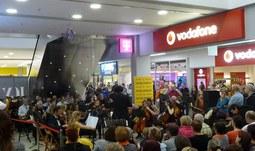 Symfonický orchestr JU vystoupil v IGY Centru