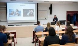 Univerzita pořádala prezentační soutěž pro doktorandy