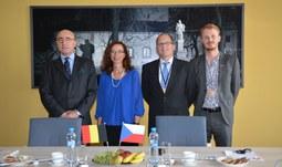 Univerzitu navštívil belgický velvyslanec