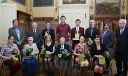 Vědci z Přírodovědecké fakulty obdrželi ocenění za články publikované v časopise Živa