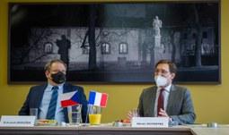 Velvyslanec Francie v České republice navštívil Jihočeskou univerzitu
