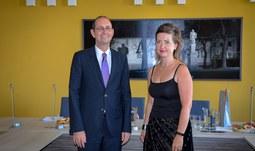 Velvyslanec Spolkové republiky Německo navštívil Jihočeskou univerzitu