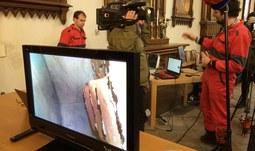 Významný nález - ostatky Jindřicha Libraria objeveny v kostele Obětování Panny Marie