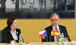 Dny španělské kultury podpořil svou účastí velvyslanec Španělska