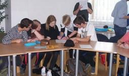 Žáci gymnázii v Třeboni a Waldkirchenu se setkali v Českých Budějovicích